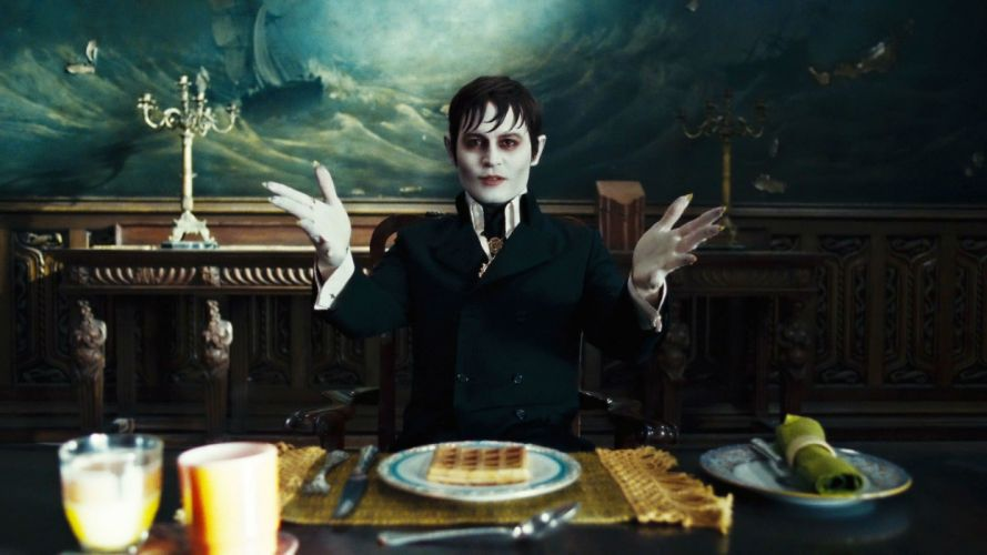 DARK SHADOWS comedy horror vampire depp wallpaper