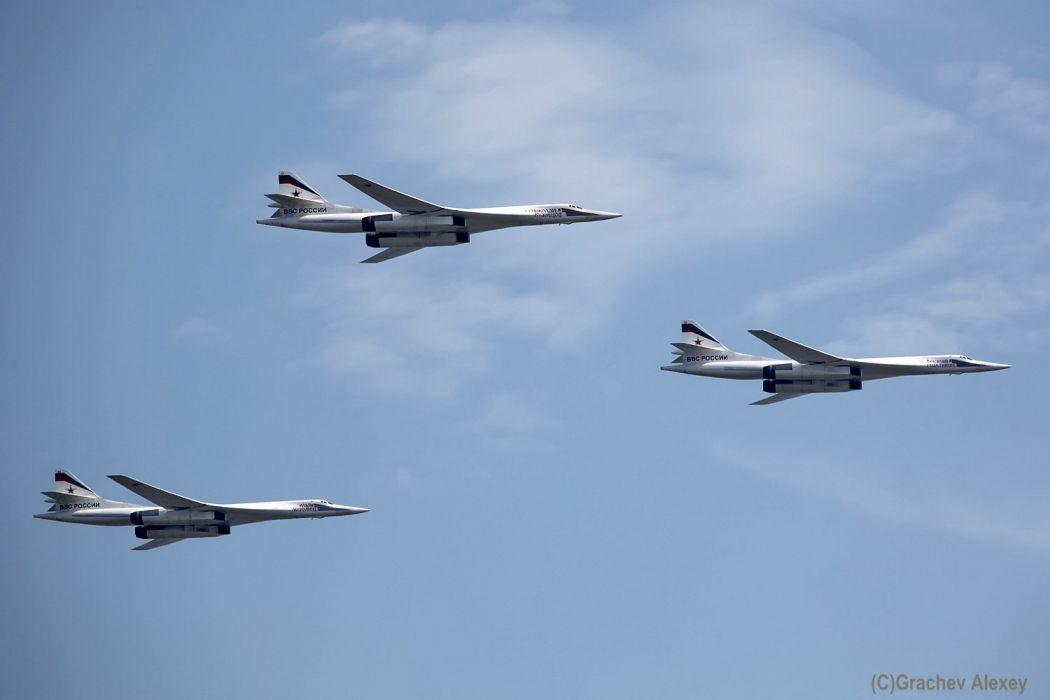 Tupolev Tu 160 Blackjack strategic bomber urss aircrafts wallpaper