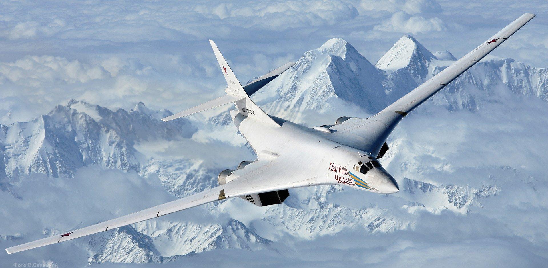 Tu 160 blackjack strategic bomber