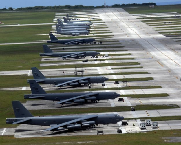 Boeing B-52 Stratofortress strategic bomber United States Air Force nasa aircrafts wallpaper