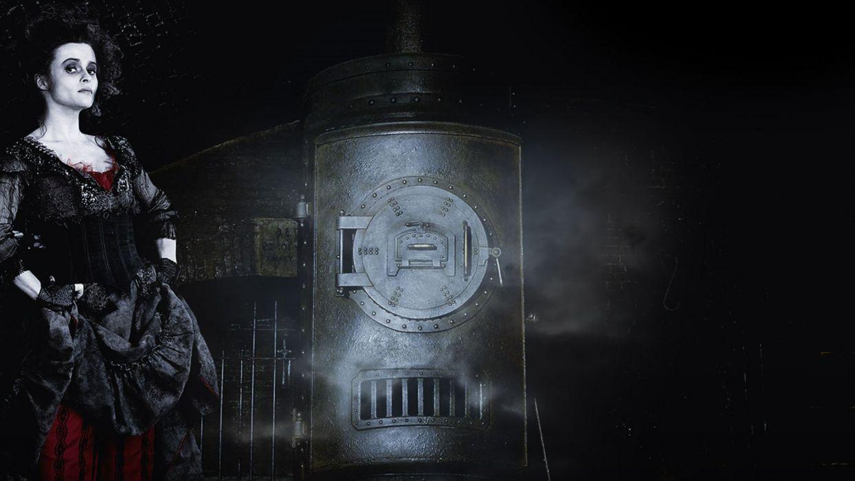 SWEENEY TODD Demon Barber Fleet Street musical thriller drama horror wallpaper
