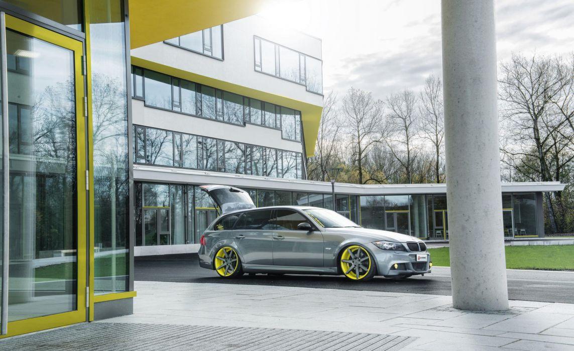 BMW stance tuning stationwagon wallpaper
