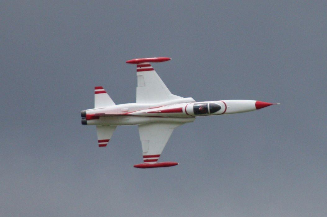 acrobatic Air aircrafts Turkish Stars team Northrop F-5 Freedom Fighter wallpaper