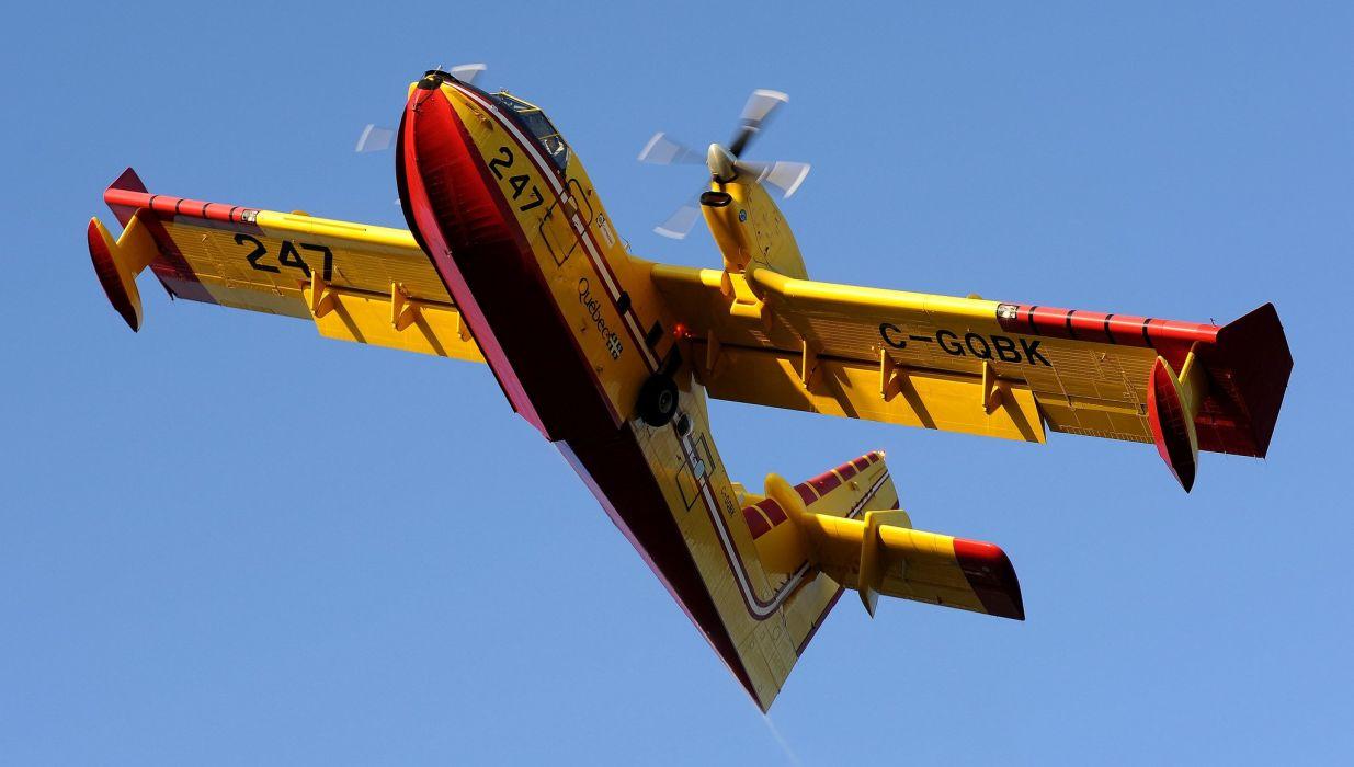 Canadair CL-415 Firecat SecuritA wallpaper