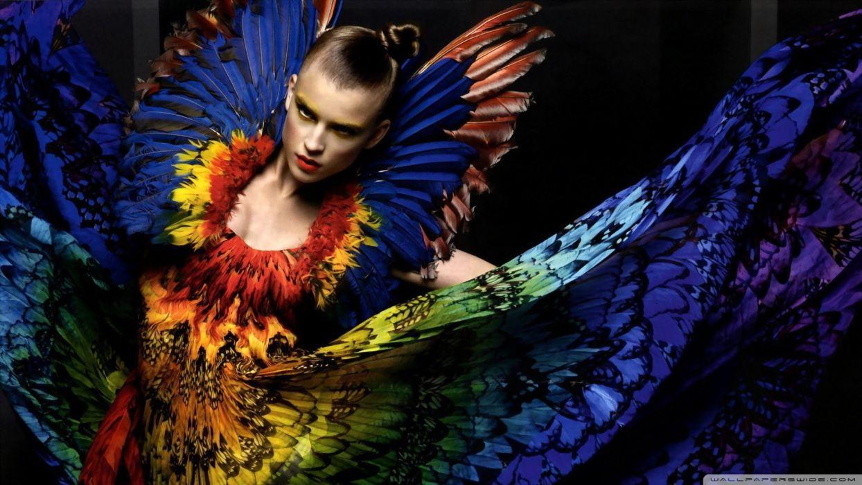 model color girl beautiful wallpaper