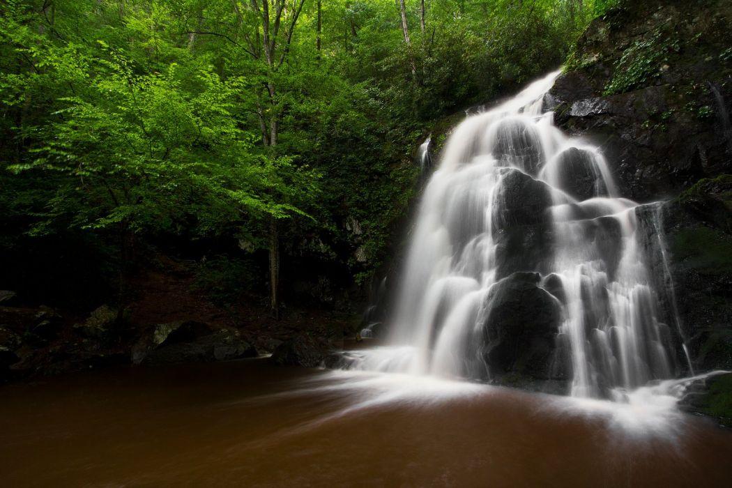 Waterfalls nature wallpapers wallpaper