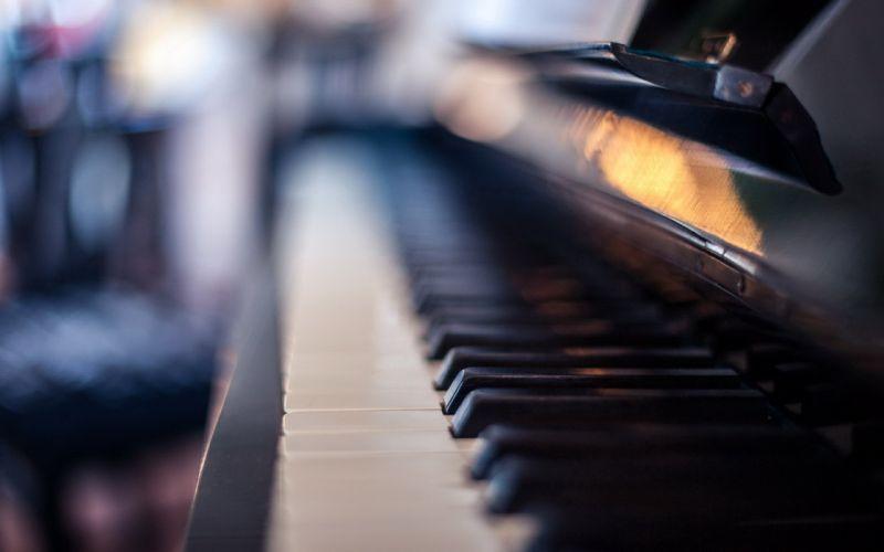 piano keyboard music wallpaper