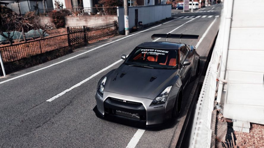 Nissan GTR R35 car wallpaper