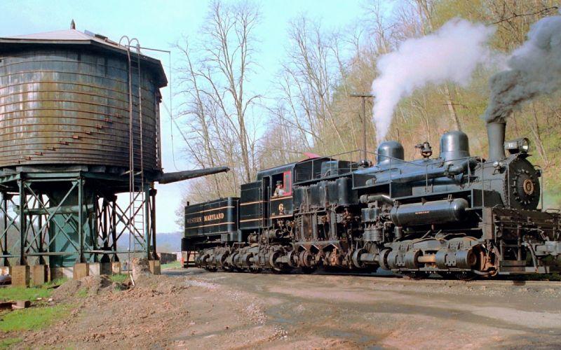 locootive classic old rails wallpaper