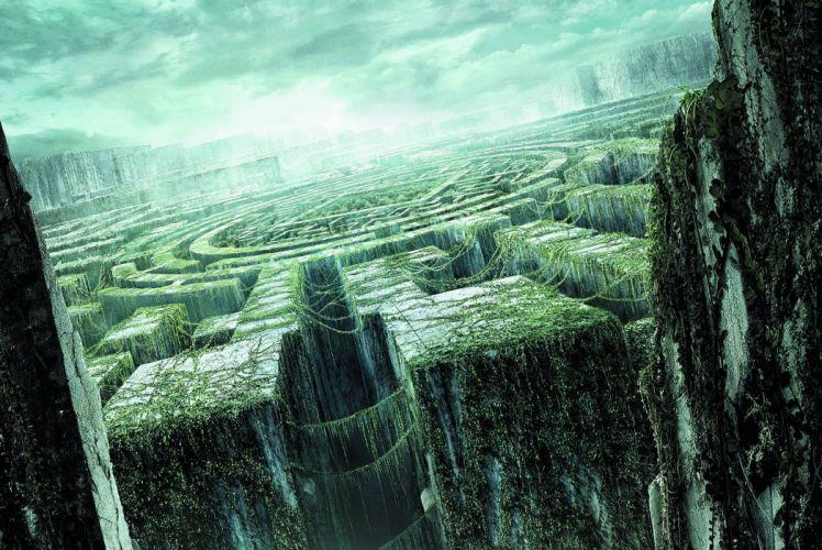 THE MAZE RUNNER action mystery thriller sci-fi wallpaper