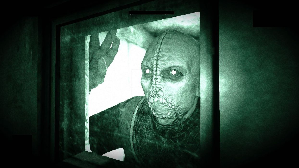 OUTLAST survival horror dark zombie wallpaper