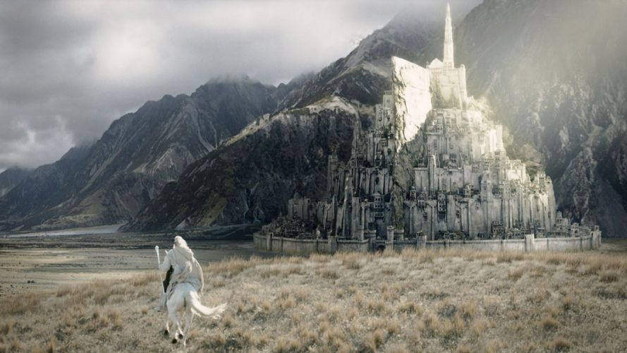 The Lord of The Rings3-MINAS TIRITH wallpaper