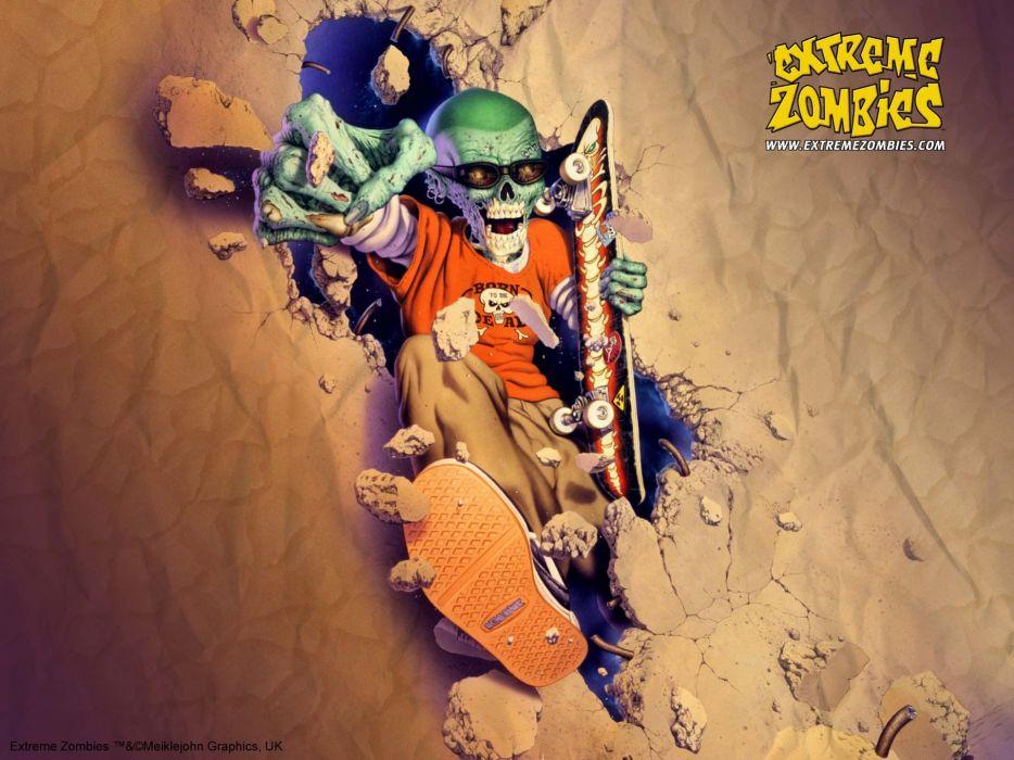 zombie-handsome wallpaper
