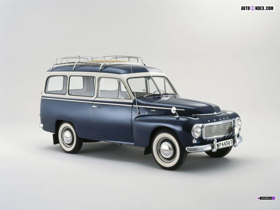 1953-1960 Volvo PV445 Duett wallpaper
