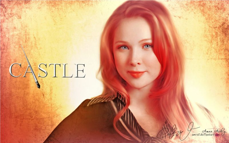 CASTLE crime drama series comedy wallpaper