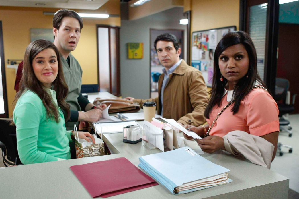 THE MINDY PROJECT comedy sitcom series medical romantic wallpaper