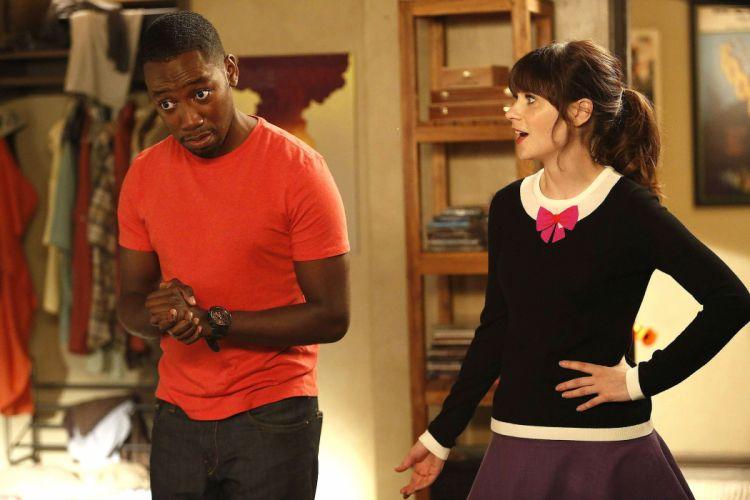 NEW GIRL comedy romance series sitcom new-girl Zooey Deschanel wallpaper