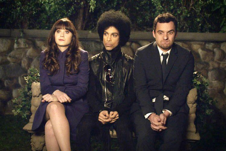 NEW GIRL comedy romance series sitcom new-girl Zooey Deschanel prince pop wallpaper