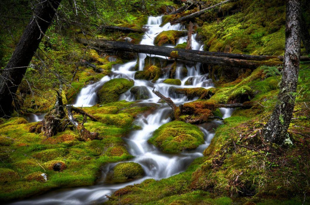 Canada nature wallpapers waterfalls wallpaper