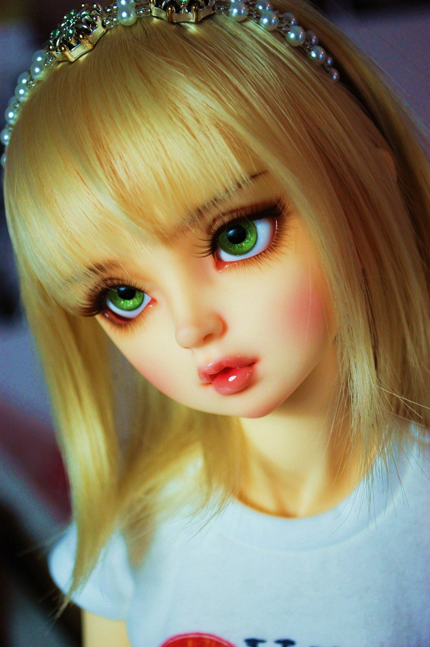 Doll Blonde Green Eyes Toys Beautiful Wallpaper  1440X2165  442991  Wallpaperup-7586