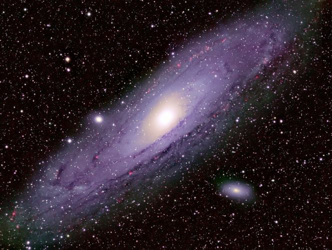 astronomy Milky way observatory sky galaxie space stars wallpaper