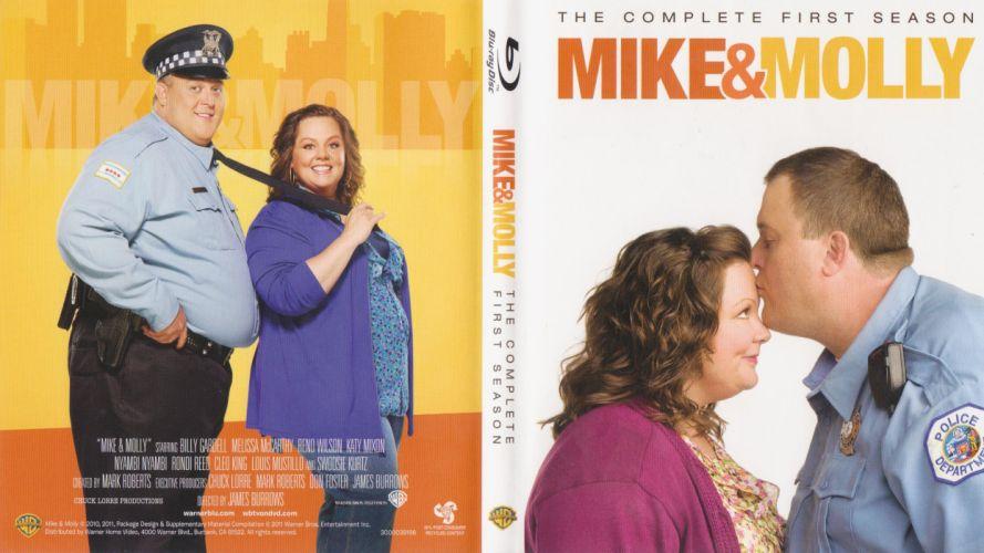 MIKE & MOLLY comedy sitcom series wallpaper