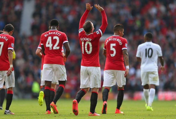 Wayne Rooney - Manchester United F C wallpaper