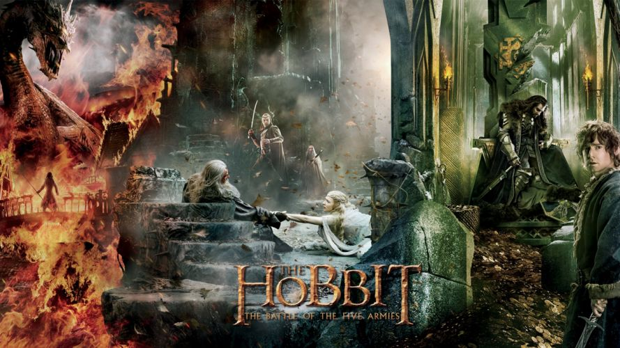 The Hobbit: Battle of the Five Armies 1 wallpaper