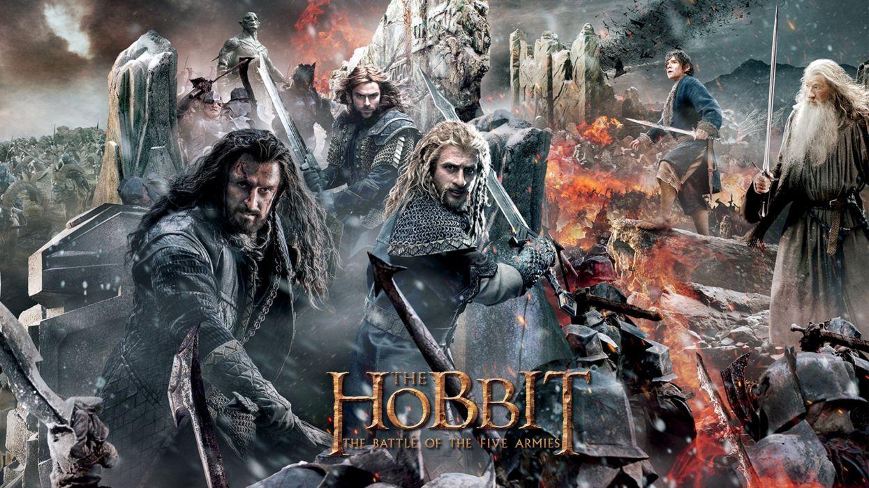 The Hobbit: Battle of the Five Armies 2 wallpaper
