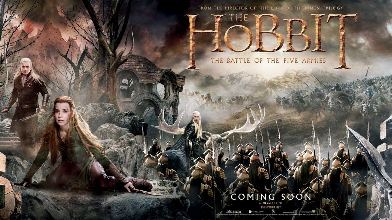 The Hobbit: Battle of the Five Armies 3 wallpaper