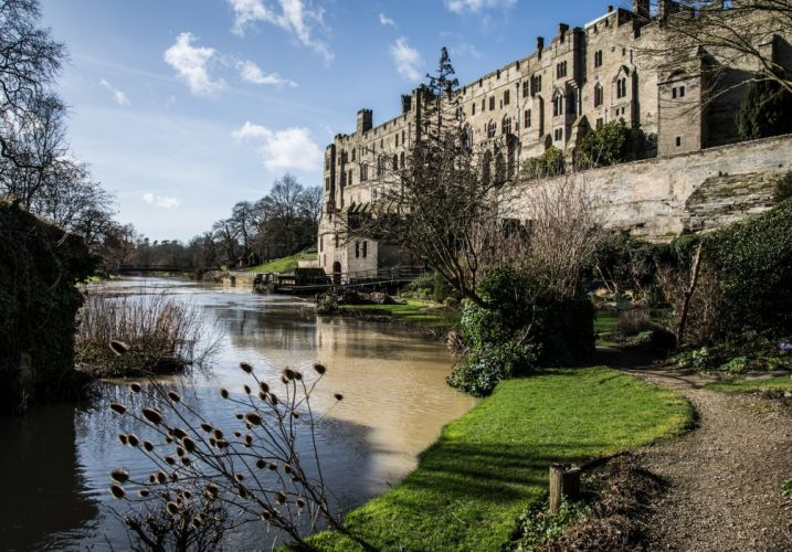 rivers nature Water architecture rock castle wallpaper england wallpaper