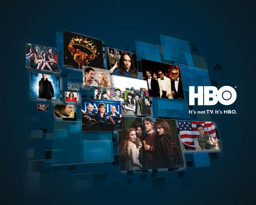 HBO logo cable television channel wallpaper