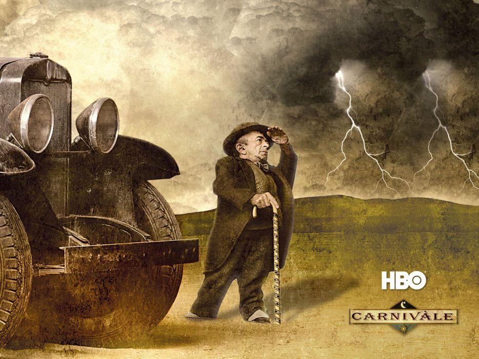 CARNIVALE hbo supernatural good evil series drama fantasy mystery dark occult wallpaper