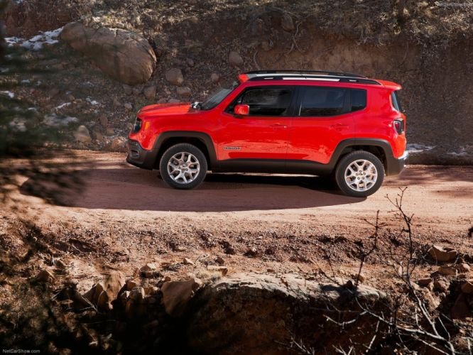 Jeep Renegade 2015 1600x1200 wallpaper SUV cars wallpaper