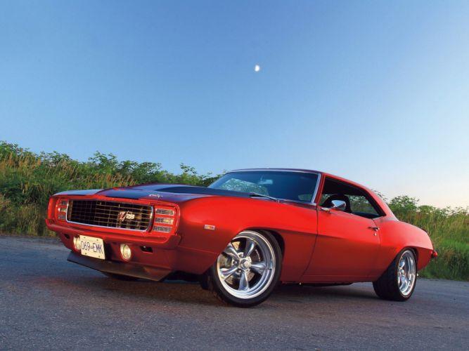 camaro ss car red wallpaper