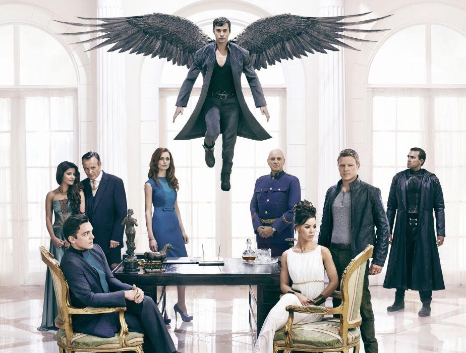 DOMINION action drama fantasy series angel apocalyptic supernatural sci-fi wallpaper