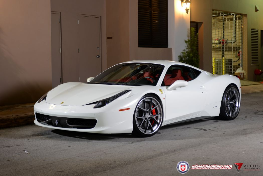 Ferrari 458 White Wallpaper 5824x3888 444288 Wallpaperup