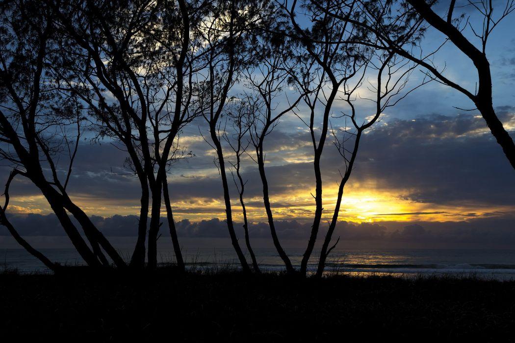 ocean Beaches season nature landscapes wallpapers summer Sunrises Sunsets zibeline wallpaper