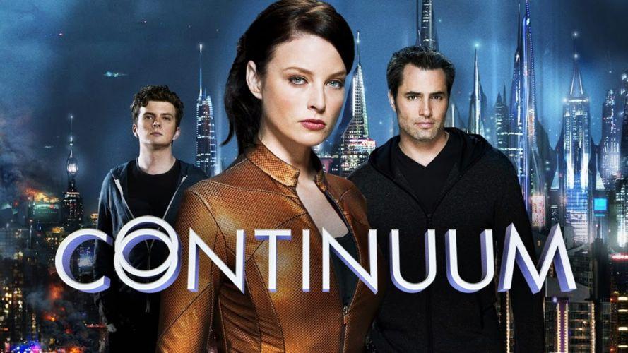 CONTINUUM action sci-fi thriller drama series wallpaper