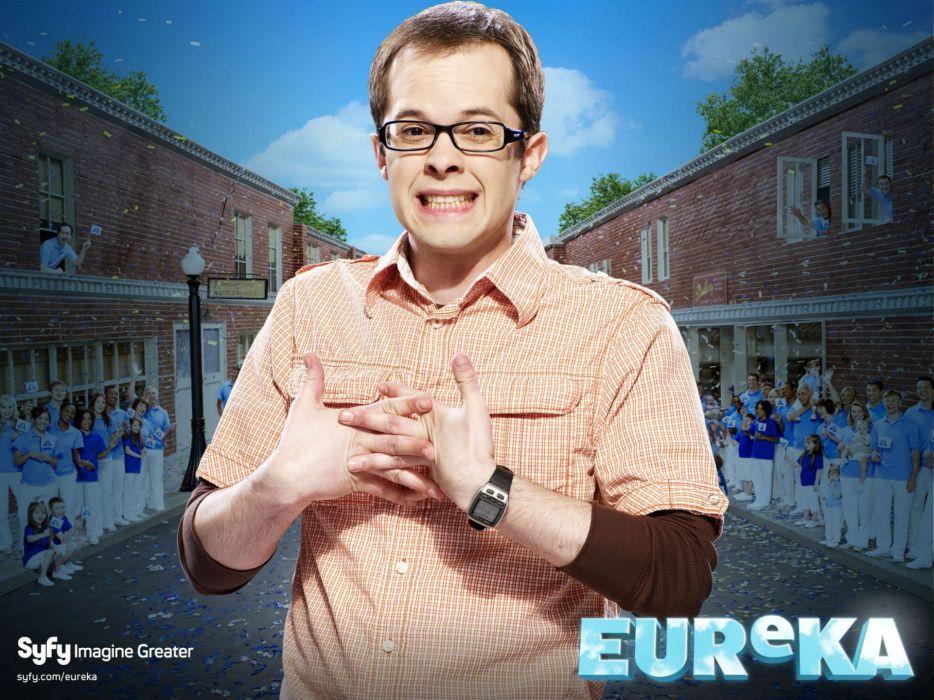EUREKA comedy sci-fi drama series wallpaper