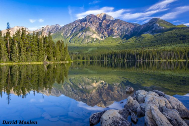 forests lakes mountains reflection nature landscapes water Trees wallpaper forests sky rock wallpaper