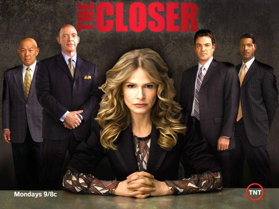 THE CLOSER crime drama mystery wallpaper