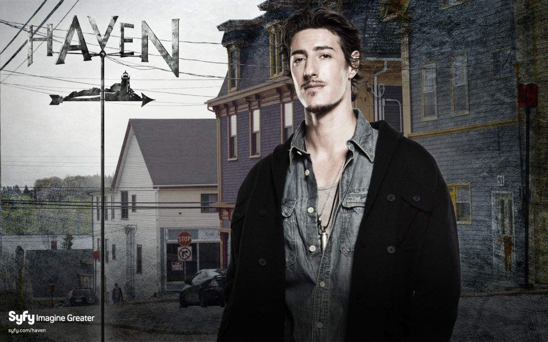 HAVEN crime drama fantasy sci-fi series supernatural wallpaper