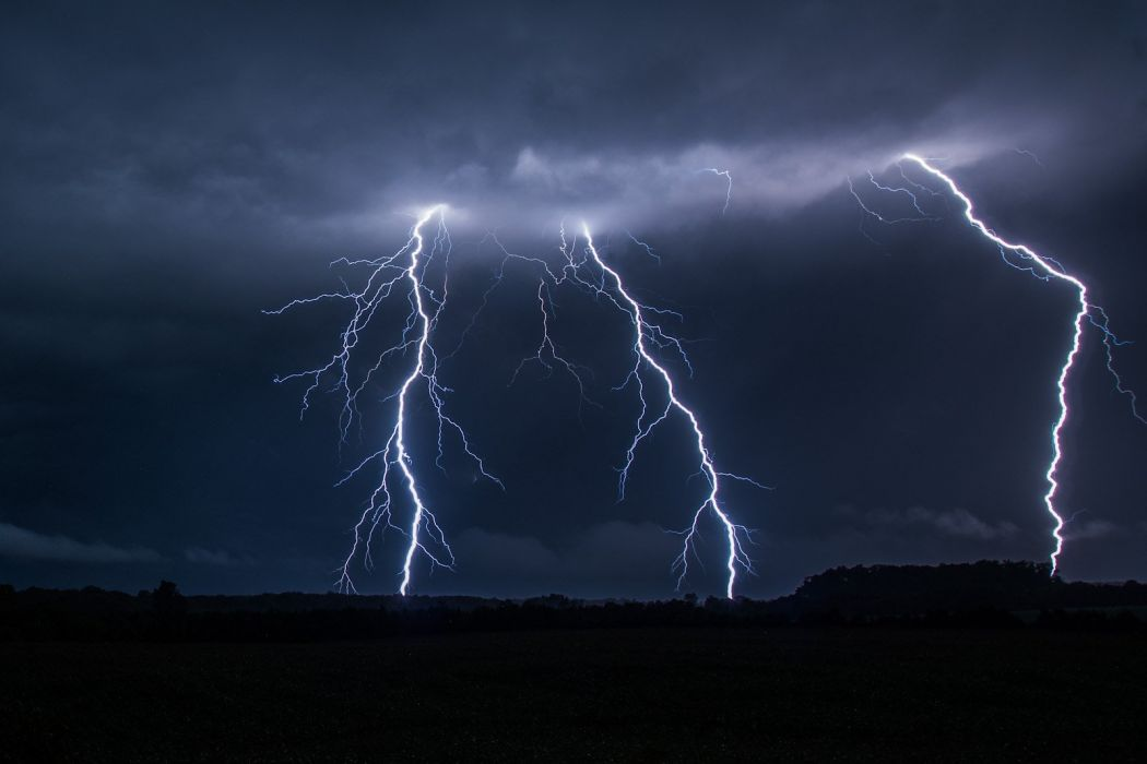 thunder storn flash lightning sky night eclair nuit foudre nature walppaper wallpaper