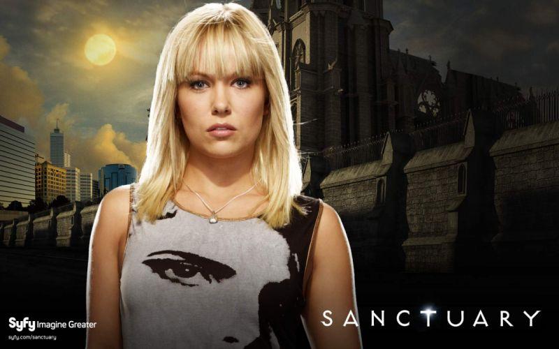 SANCTUARY crime mystery sci-fi supernatural wallpaper