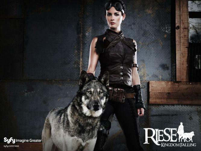 RIESE KINGDOM FALLING action adventure sci-fi drama series steampunk wallpaper
