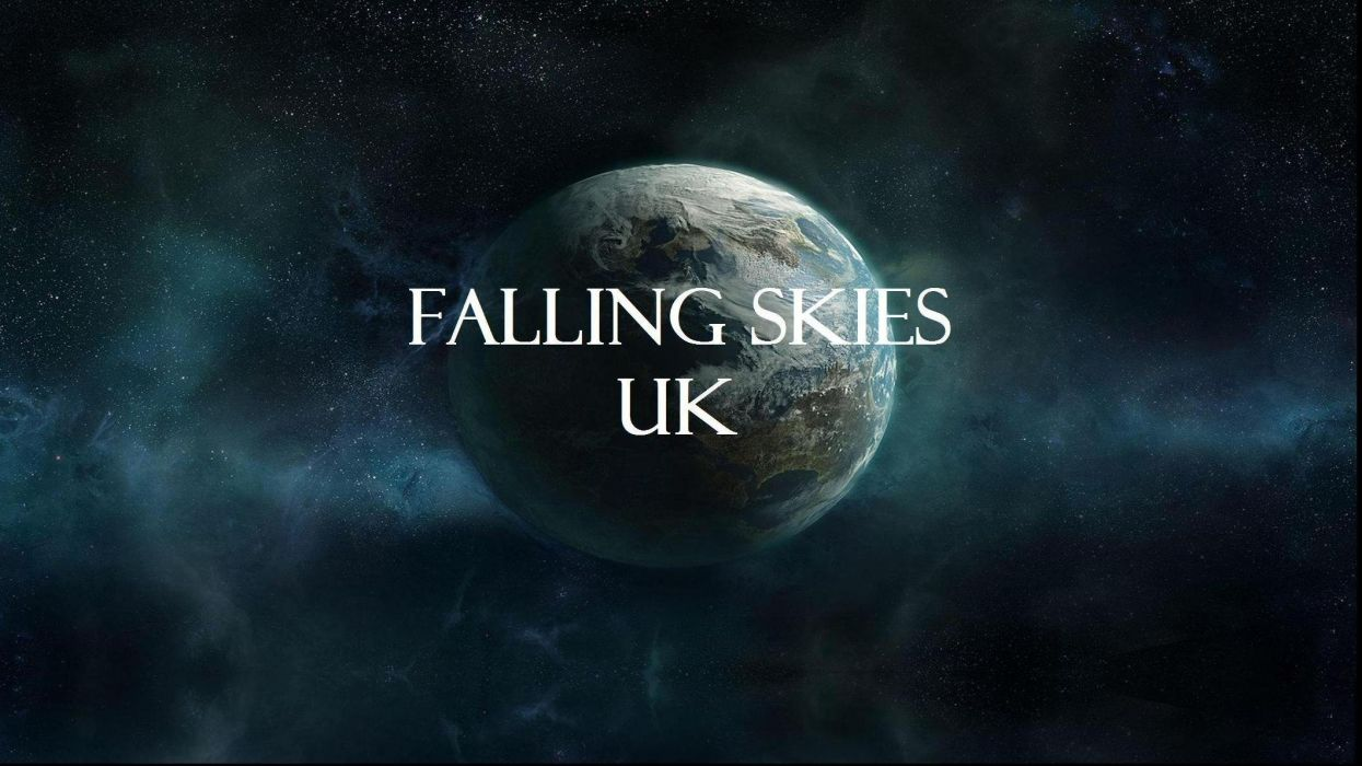 FALLING SKIES action series sci-fi thriller apocalyptic space planet stars wallpaper
