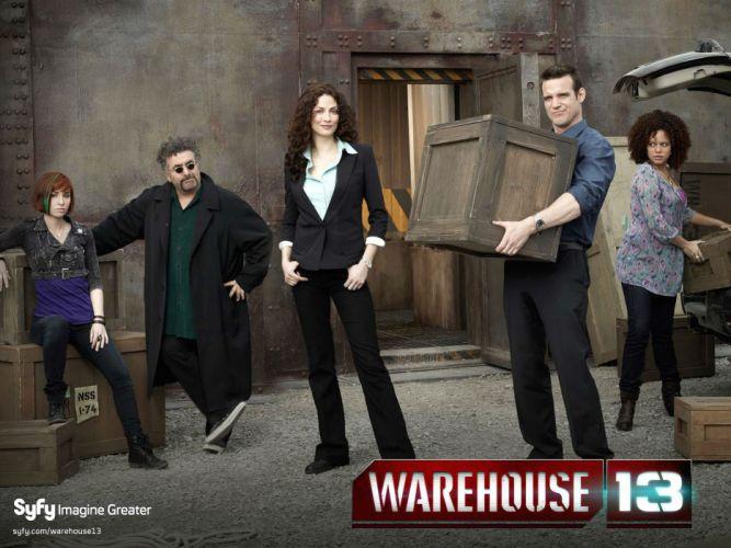 WAREHOUSE 13 drama mystery sci-fi fantasy series wallpaper