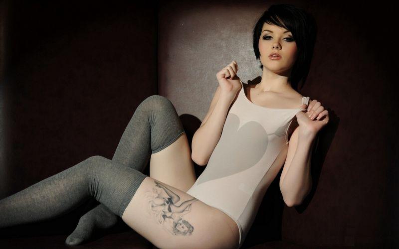 TATTOO - girls-legs-sexy-model wallpaper