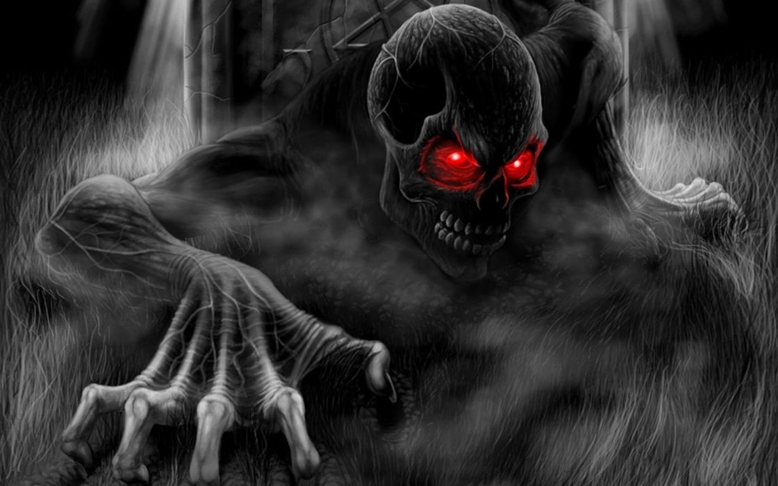 SKULL - red-eyes-dark-death wallpaper